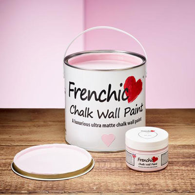 Bon Bon Chalk wall paint by Frenchic