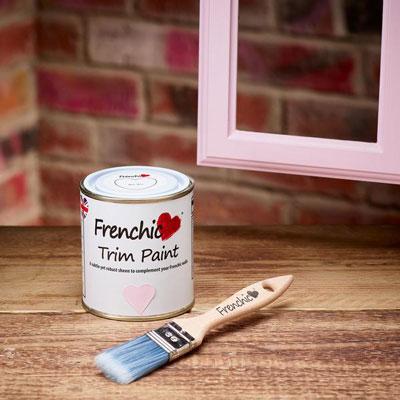Bon Bon trim paint by Frenchic at Byefield Emporium