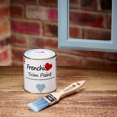 Ducky trim paint by Frenchic at Byefield Emporium