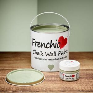Green with Envy Chalk wall paint by Frenchic