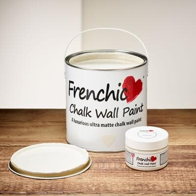 Parchment Chalk wall paint by Frenchic