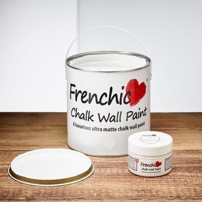 Whiter than White Chalk wall paint by Frenchic