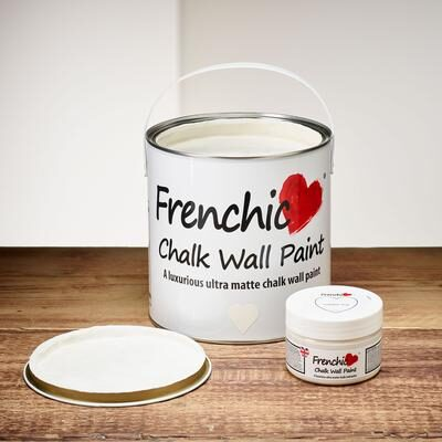 Yorkshire Rose Chalk wall paint by Frenchic