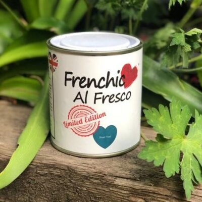 Steel Teal Al Fresco paint by Frenchic