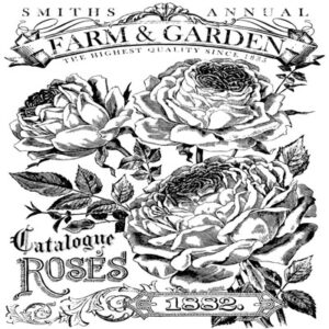 IOD Catalogue of Roses Decor Transfer