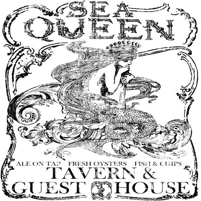 IOD Sea Queen Decor Transfer