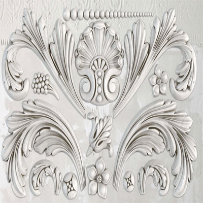 IOD Acanthus Decor Mould