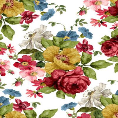 IOD Wall flower Decor Transfer
