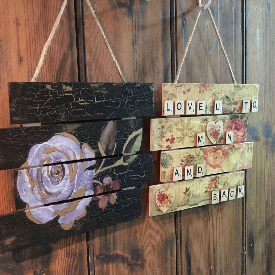 Hanging Plaques by Byefield Emporium