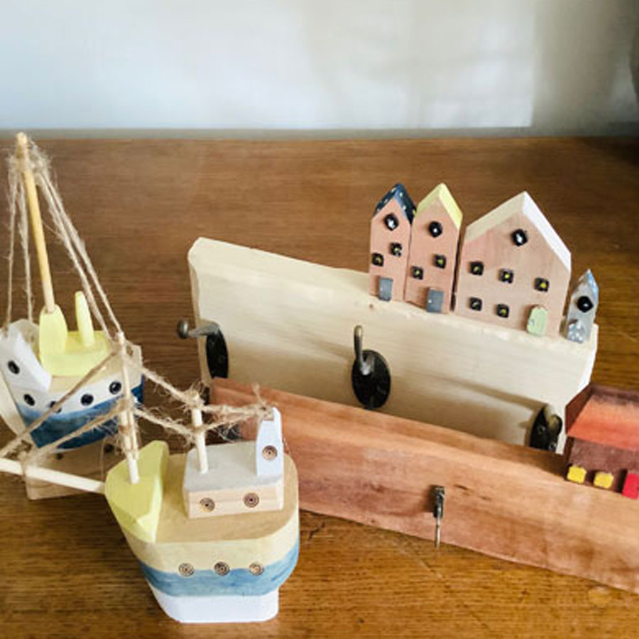 Small wooden boats handmade to order by Byefield Emporium