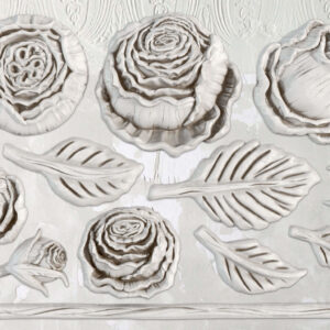 Heirloom Roses IOD Mould