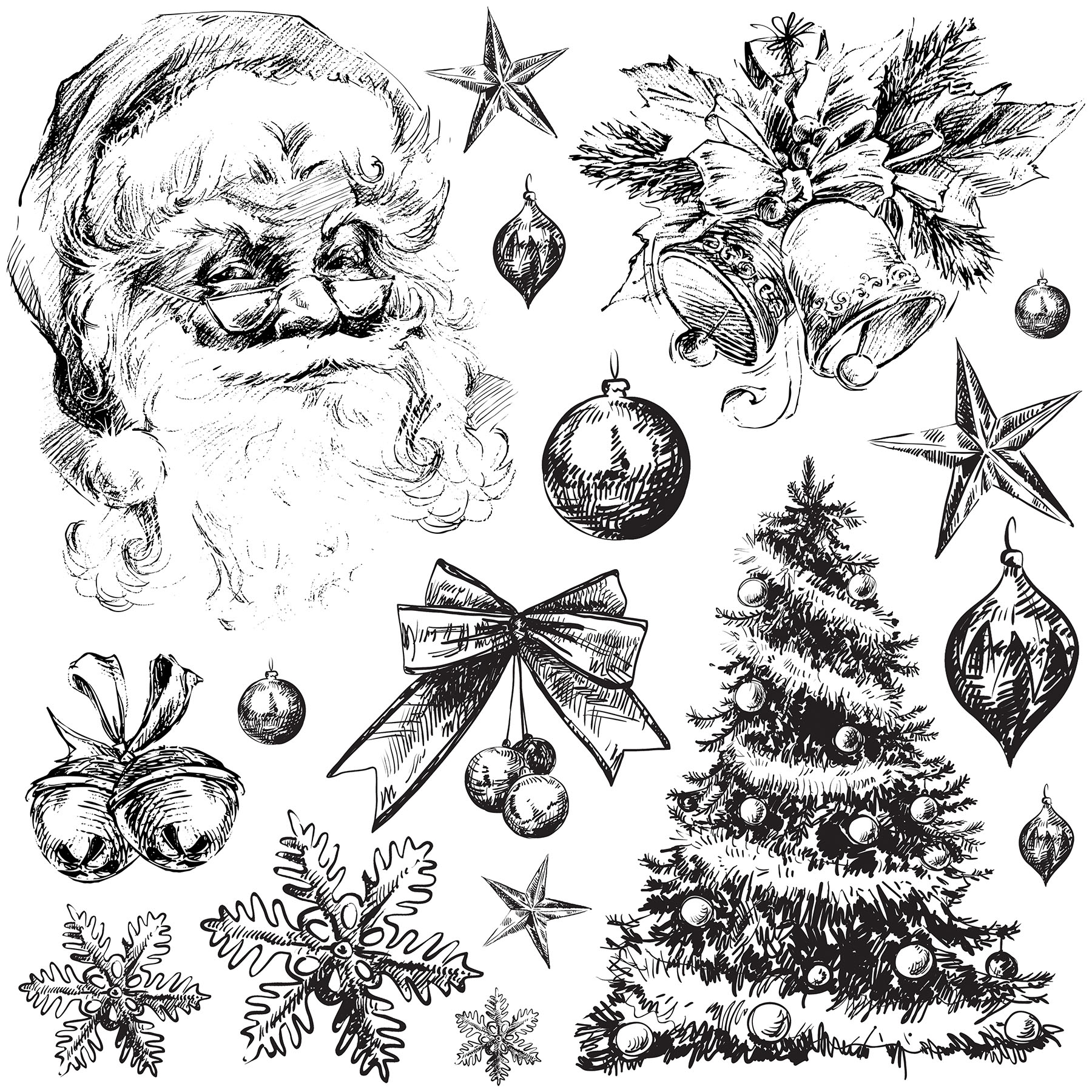 Holly Jolly 12×12 IOD Stamp™ Sold by Byefield Emporium