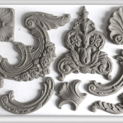 Classic Elements Decor Moulds from Iron Orchid Designs old by Byefield Emporium