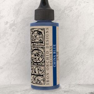 IOD China Blue ink