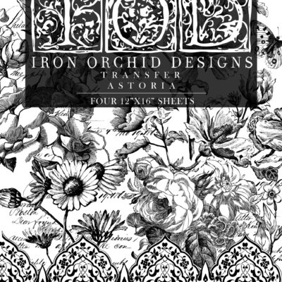 Astoria Transfer - Iron Orchid Design