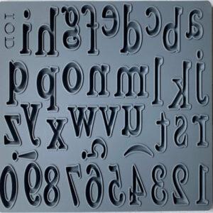 IOD Harper Alphabet mould
