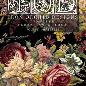 Floral Anthology Iron orchid Designs Transfer